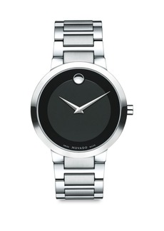 Movado Modern Classic Stainless Steel Bracelet Watch