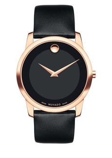 Movado Museum Classic Stainless Steel Strap Watch