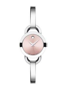 Movado Rondiro Mini Stainless Steel Bangle Bracelet Watch