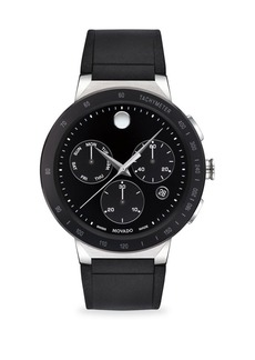 Movado Sapphire Sport Stainless Steel Chronograph Watch