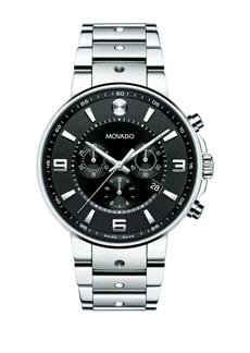 Movado S.E. Pilot Chronograph Watch