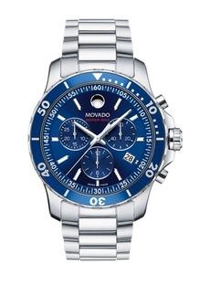 Movado Series 800 Stainless Steel Bracelet Watch