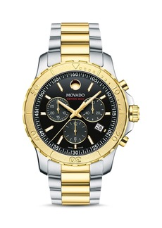 Movado Series 800 Two-Tone Chronograph, 42mm
