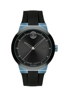 Movado Stainless Steel & Silicone-Strap Watch