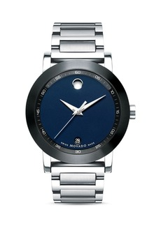 Movado Stainless Steel Museum Sport Watch, 42 mm