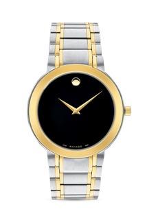 Movado Stiri Two Tone Watch, 40mm