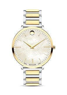 Movado Ultra Slim Two-Tone Watch, 35mm