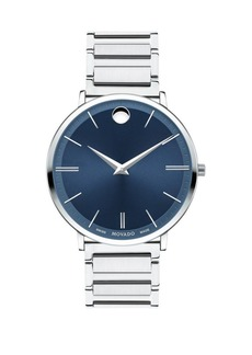 Movado Ultra Slim Stainless Steel Bracelet Watch