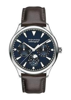 Movado Women's Heritage Swiss Quartz Multifunction Watch, 36mm