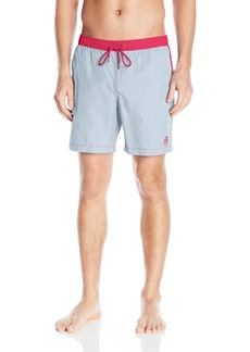 Mr. Swim Men's Dale Solid Swim Trunks