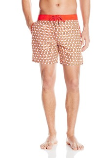 Mr. Swim Men's Honeycomb Chuck Swim Trunk
