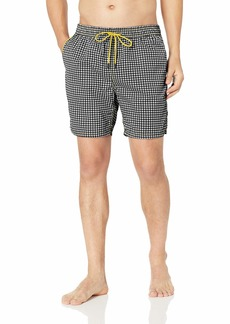 Mr. Swim Men's Houndstooth  L