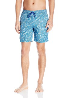 Mr. Swim Men's Paisley Dale Elastic Swim Trunk