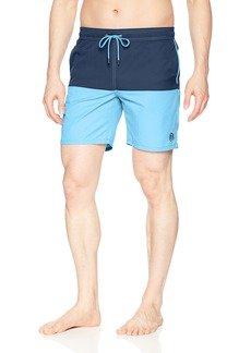 Mr. Swim Men's Swim Trunks with Mesh Lining - Swimsuit & Swimshorts - Quick Dry Swimming Bathing Suit with Pockets -