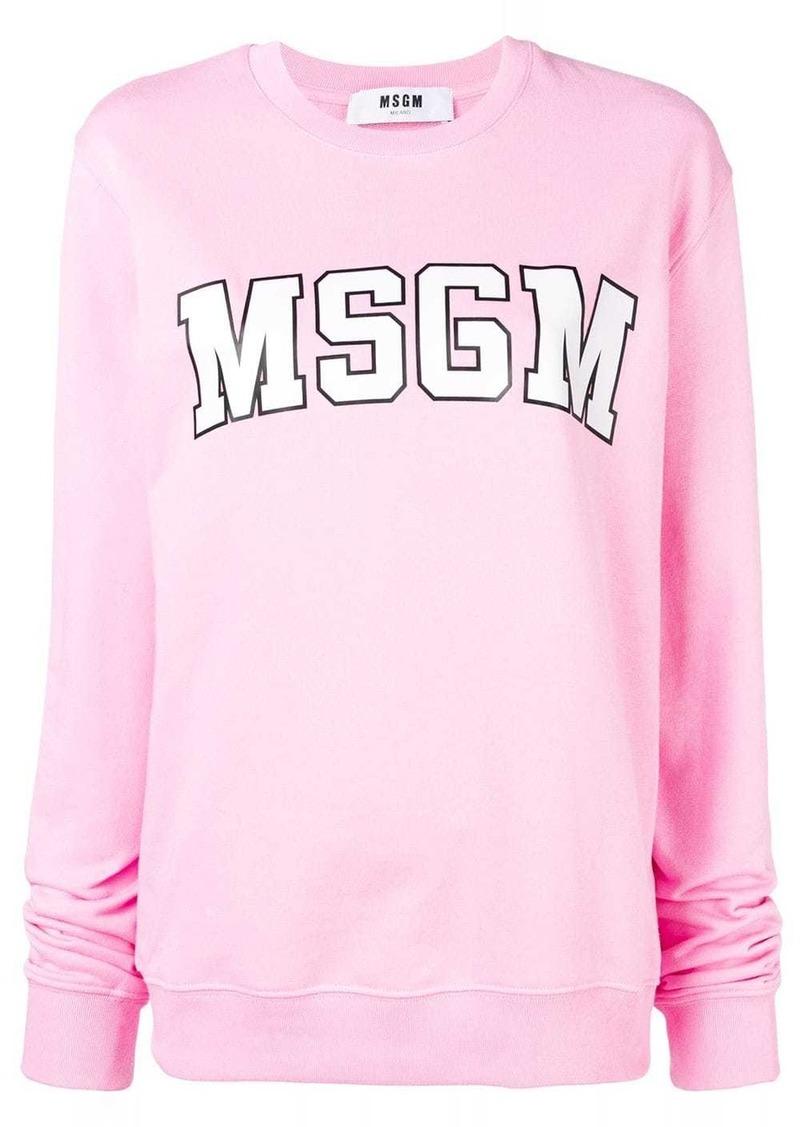 MSGM basic logo sweatshirt