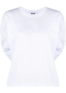 MSGM batwing-sleeve T-shirt
