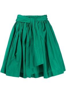 MSGM bow-back A-line mini skirt