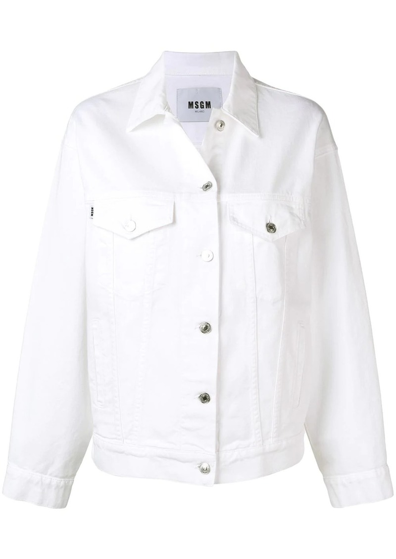 MSGM buttoned jacket