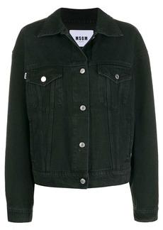 MSGM cat denim jacket