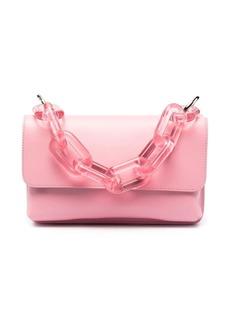 MSGM chain handle box bag