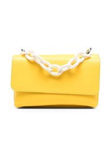 MSGM chain-link detail shoulder bag