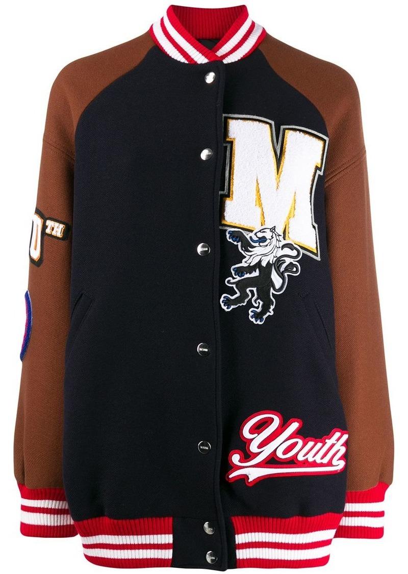 MSGM College bomber jacket