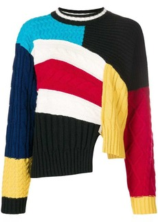 MSGM panel sweater