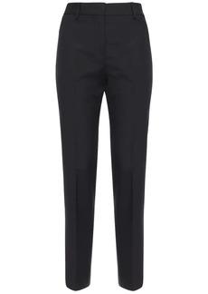 MSGM Cool Wool Straight Pants