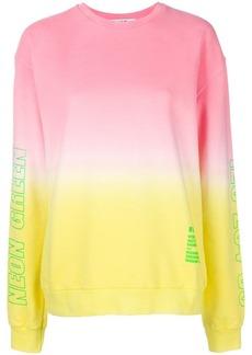 MSGM dip-dye sweatshirt