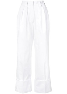 MSGM fold-up hem trousers