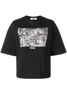 MSGM Grand Hotel T-shirt