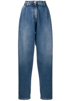 MSGM high-rise tapered jeans