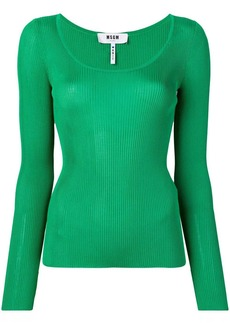 MSGM knitted top