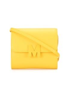 MSGM logo appliqué crossbody bag