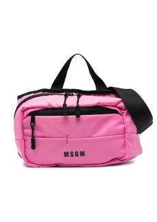 MSGM logo-print belt bag
