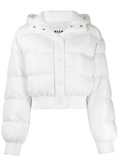 MSGM logo puffer jacket