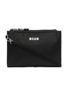 MSGM micro logo shoulder bag