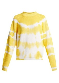 MSGM Bleached cotton sweater