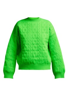 MSGM Cable-knit sweater