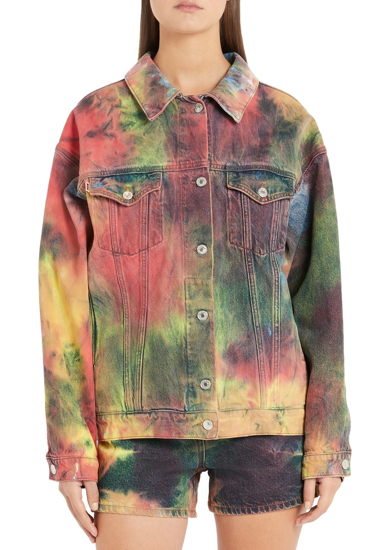 MSGM Dream Tie Dye Jacket