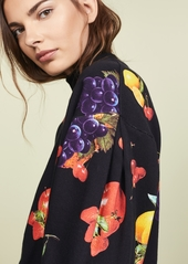 MSGM Fruit Sweatshirt