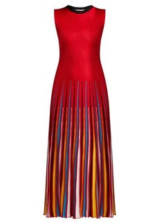 MSGM Knit midi dress