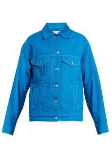 MSGM Oversized denim jacket