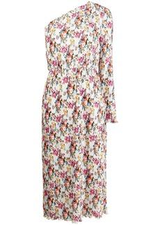 MSGM one-shoulder floral dress
