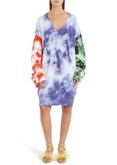 MSGM Oversize Tie Dye Sweater