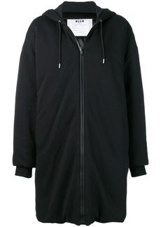 MSGM oversized hoodie coat