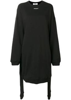 MSGM oversized sweater dress