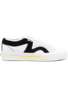 MSGM panelled low-top sneakers