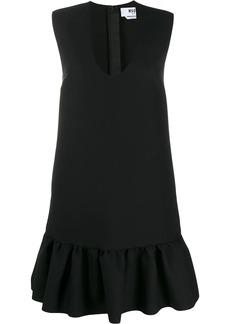 MSGM peplum hem mini dress