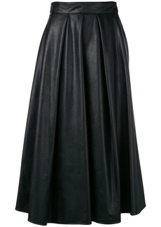 MSGM pleated midi skirt